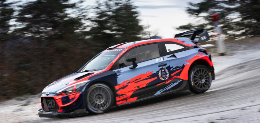 WRC: Hyundai WRT after both the driver and manufacturer titles