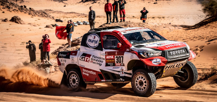 Momentous second place for Fernando Alonso at the Dakar