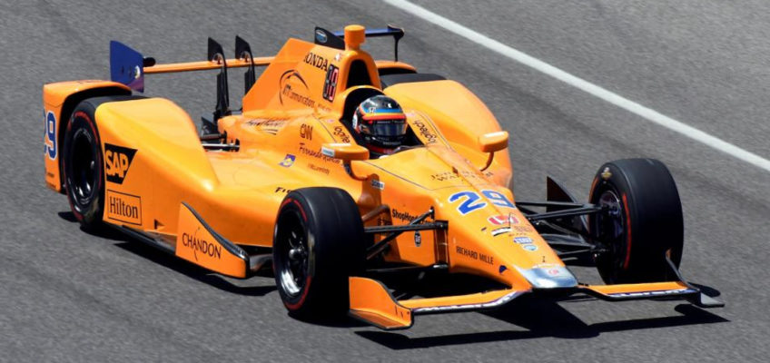 Alonsocould join Andretti for the 500 Miles ofIndianapolis