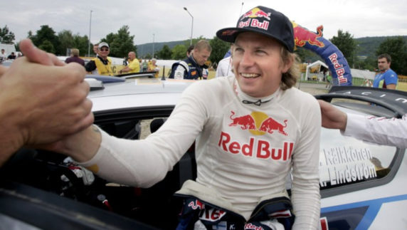 Kimi Raikkonen plans his comeback to the World Rally Championship
