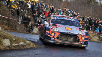 Breen replaces Loeb at Hyundai for Rally Sweden