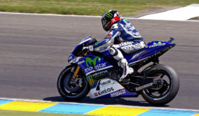 Jorge Lorenzo,officialtest rider for Yamaha in 2020