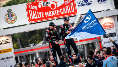 Monte-Carlo: Neuville beats both Ogier and Evans' Toyotas