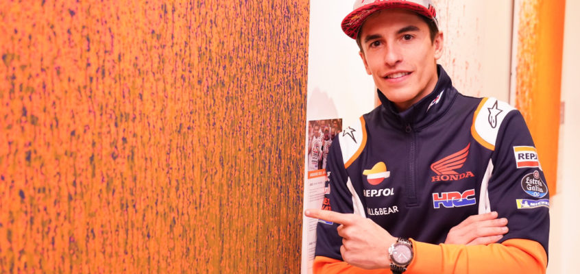 """Marc Márquez on his recover: """"Two weeks ago I couldn't even lift a glass"""""""