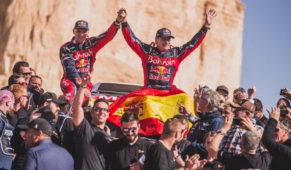 Carlos Sainz wins his third Dakar  at 57 years of age