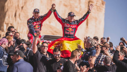 Carlos Sainz wins his third Dakar  at 57 years of age