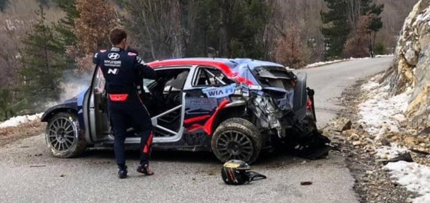 Tänaksuffers horrific accident at RallyMonte Carlo