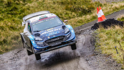 Lappi, from no team to leading Ford at the WRC