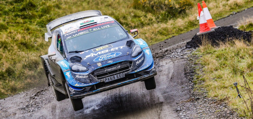 Lappi,fromnoteamtoleadingFord attheWRC