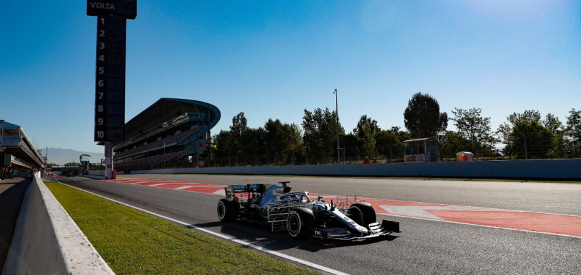 Driver line-ups for the 2020 F1 pre-season test sessions