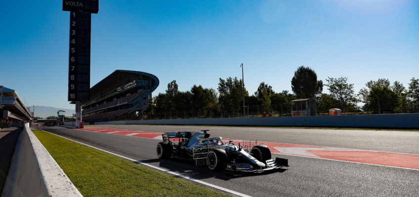 Driver line-ups for the 2020 F1 pre-seasontest sessions