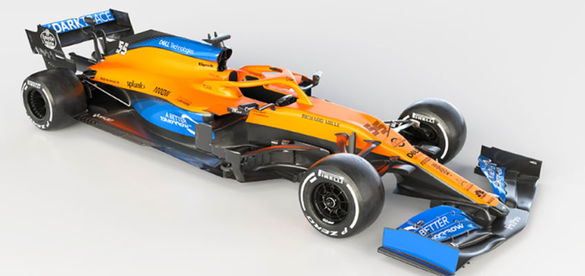 Sainz and Norris' new McLaren MCL35 is unveiled