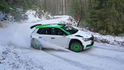 Oliver Solberg trains in Spain after extending his WRC programme