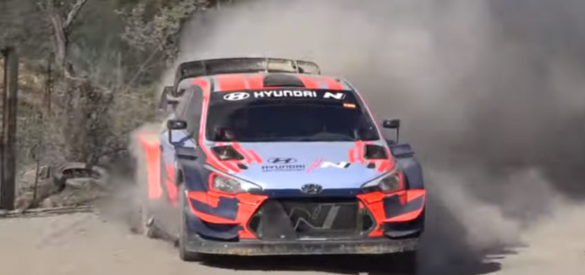 Hyundai get ready for Rally Mexico in Spain