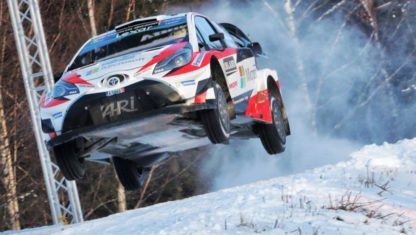 Rally Sweden 2020 goes ahead despite lack of snow