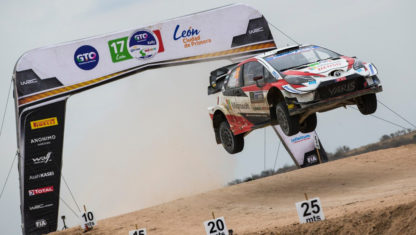 Rally Mexico: Ogier takesfirstwin with Toyota and steals WRC lead