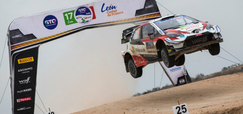 Rally Mexico: Ogier takes first win with Toyota and steals WRC lead