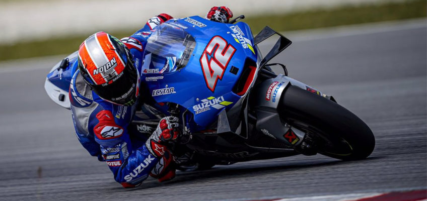 Álex Rins renews with Suzuki until the end of 2022
