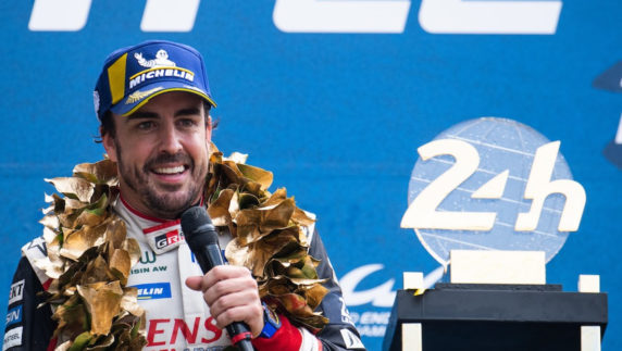Fernando Alonso will pursue a third victory at Le Mans