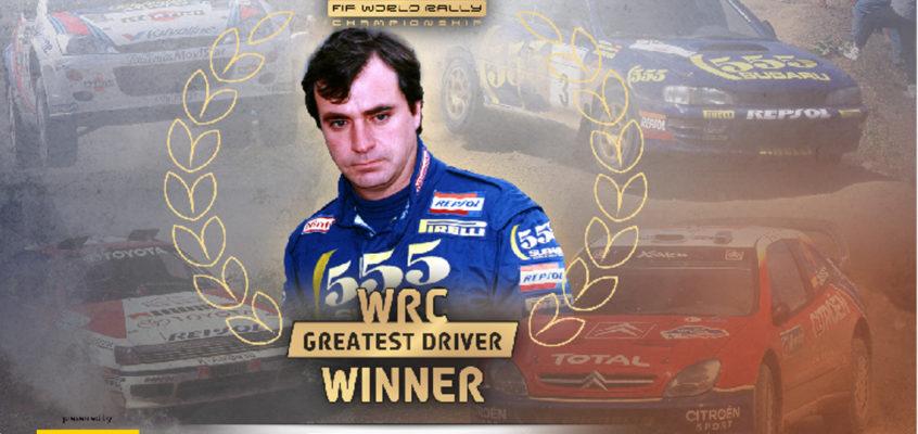 Carlos Sainz named best driver in WRC History