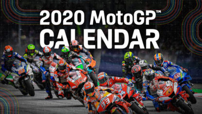 The revised MotoGP 2020 official calendar is here!