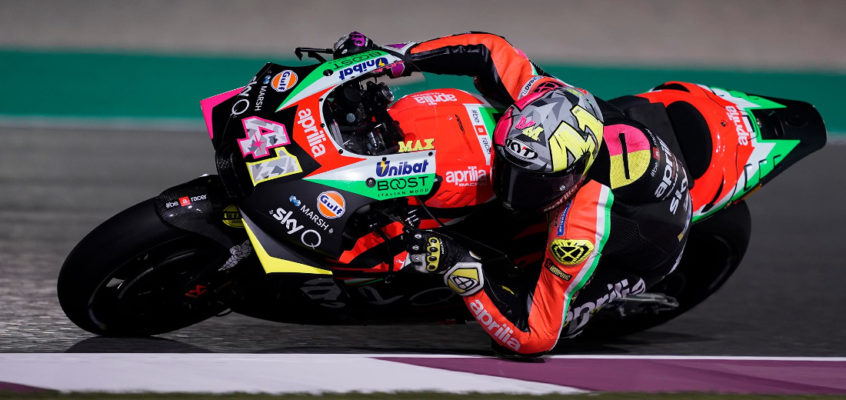 Aleix Espargaró renews with Aprilia for 2021 and 2022