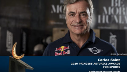 Carlos Sainz, 2020 Princess of Asturias Award for Sports