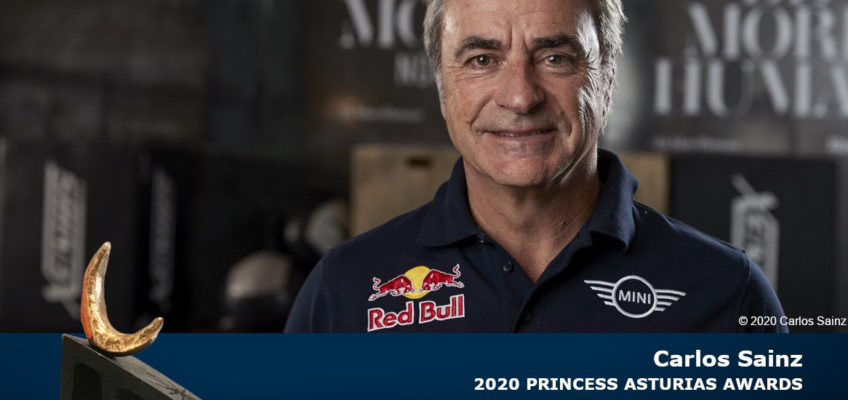 Carlos Sainz, 2020 Princess of Asturias Award for Sports