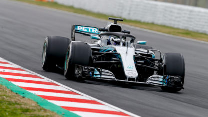 Mercedes will return to action next week with a test at Silverstone