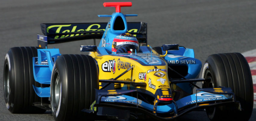 Fernando Alonso returns to Formula 1 with Renault