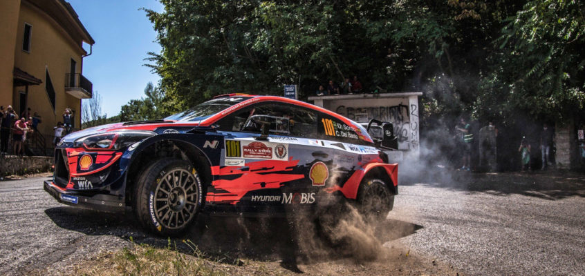Dani Sordo's first win of the year at the Rally Stars Rome Capitale 2020