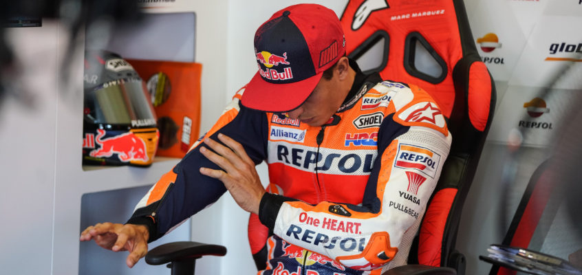 Marc Márquez, successfully operated on his arm