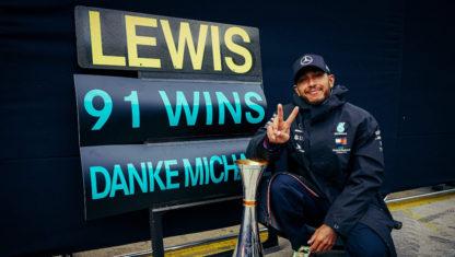 Eifel GP 2020:Hamilton equals Schumacher's F1 wins