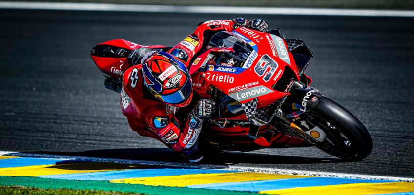 Danilo Petrucci wins French GP