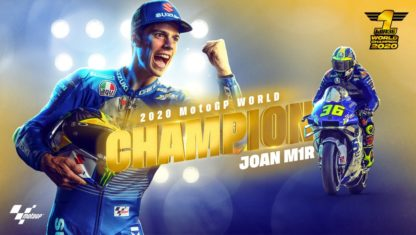 Valencian GP: Joan Mir World Champion