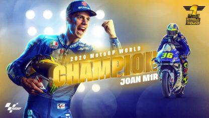 Valencian GP: Joan Mir World Champion