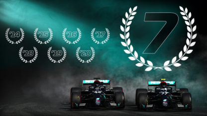 Emilia Romagna F1 GP: Hamilton landmark win earns Mercedes its seventh consecutive title