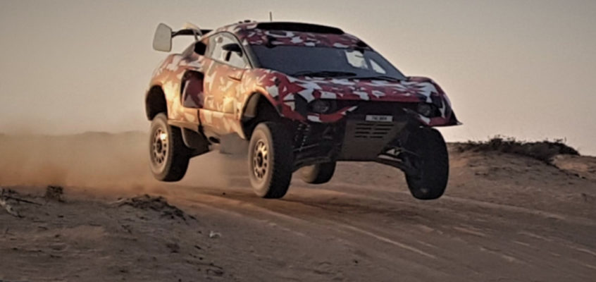 Loeb and Nani Roma test BRX T1 ahead of Dakar 2021
