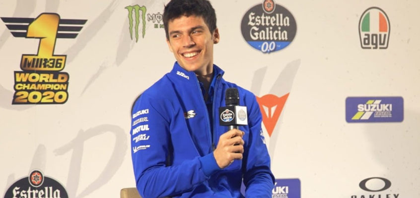 "Joan Mir: ""The pressure of being champion could play in my favour"""