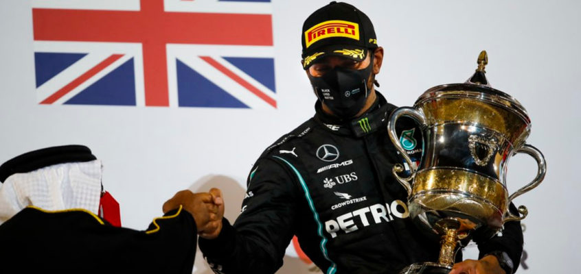 Lewis Hamilton will miss the Sakhir GP after testing positive for Coronavirus