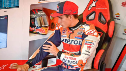 Is Marc Marquez' sporting career in jeopardy?