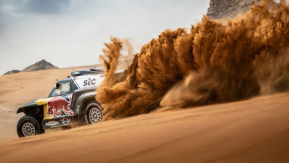 This is Carlos Sainz' 'beast' as he sets off to conquer fourth Dakar