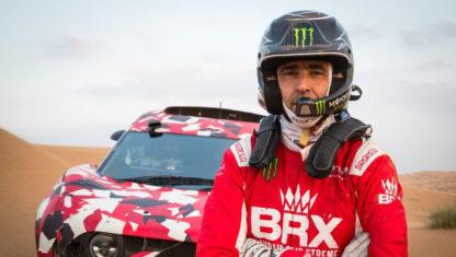 Nani Roma loses co-pilot six days before Dakar Rally