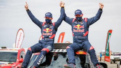 Stephane Peterhansel claims his 14th Dakar title