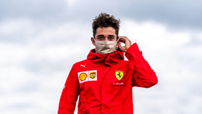 Charles Leclerc, the fifth F1 driver to test positive for COVID-19