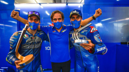 Davide Brivio, Suzuki's MotoGP chief moves to F1 with Renault