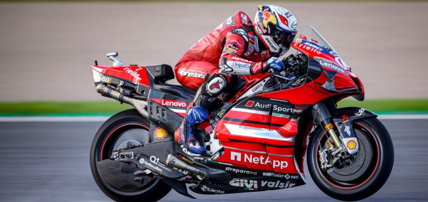 Ducati extends MotoGP contract until 2026