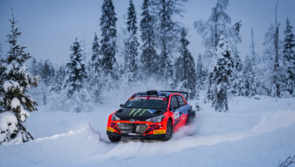 The Arctic Lapland Rally WRC: With no public and under threat