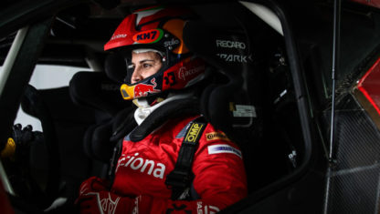 Laia Sainz makes the leap to four-wheel racing at Dubai International Baja