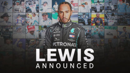 Lewis Hamilton signs new Mercedes contract for 2021